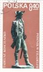 Stamps : Europe : Poland :  FIGURA TADEUSZ KOSCIUSZKO