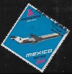 Sellos de America - México -  50 años de Mexicana de Aviación