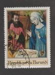 Stamps : Africa : Burundi :  Representación del nacimiento de Jesús