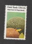Stamps : America : United_States :  arrecifes de coral