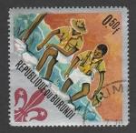 Stamps : Africa : Burundi :  Dos boy scouts