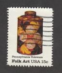 Stamps : America : United_States :  Arte típico