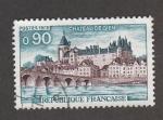 Stamps : Europe : France :  Castillo de Gien