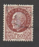 Stamps : Europe : France :  Mariscal Petain