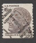 Sellos de America - Estados Unidos -  Presidente Franklin D. Roosvelt