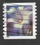 Stamps : America : United_States :  Lino azul