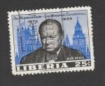 de Africa - Liberia -  In memoriam Sir Winston Churchill