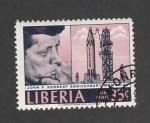 de Africa - Liberia -  Aniv. muerte John F. Kennedy