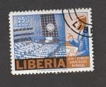 de Africa - Liberia -  Aniv muerte John F. Kennedy