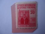 de Europa - Italia -  Hostium Rabies Diruit- Bologna Loggia Dei Mercanti -Lojia de los Comerciantes en Bolognia -Hostia Ra