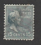 sellos de America - Estados Unidos -  James Buchanan