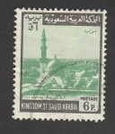 Sellos de Asia - Arabia Saudita -  La mezquita del profeta