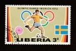 Sellos de Africa - Liberia -  Juegos olímpicos Münich 72