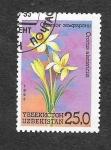 Stamps Uzbekistan -  40 - Flores