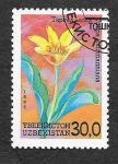 Sellos de Asia - Uzbekistán -  42 - Flores