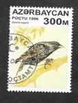 Sellos de Asia - Azerbaiyán -  595 - Estornino Común