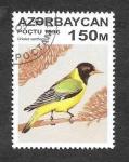 Sellos de Asia - Azerbaiyán -  593 - Oropéndola Gorjinegra