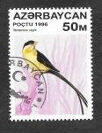 Sellos de Asia - Azerbaiyán -  591 - Ave