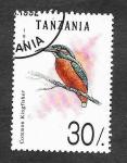 Stamps Tanzania -  982 - Martín Pescador