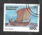 Stamps Togo -  1905 - Nave Fenicia