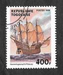 Sellos de Africa - Togo -  1909 - Buque Inglés