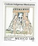 sellos de America - México -  Códices indígenas mexicanos