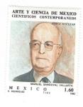 sellos de America - México -  Científicos contemporáneos. Manuel Sandoval Vallarta