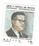 Sellos del Mundo : America : México : Científicos contemporáneos. Guillermo Gónzalez Camarena