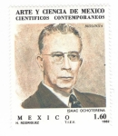 Sellos del Mundo : America : México : Científicos contemporáneos. Isaac Ochoterena
