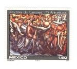 Sellos del Mundo : America : México : 75 aniversario de los martires de Cananea