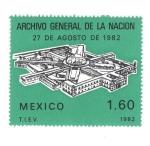 Sellos del Mundo : America : México : Archivo general de la nacion