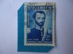 Sellos del Mundo : America : Argentina : General:Juan Lavalle - 100 Aniversario de su Accidente (1841-1941)