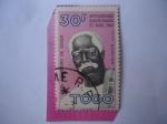 Sellos del Mundo : Africa : Togo : Pa, Augustino de Zouza (1867-1960) Aniversario de la Independencia, 27 de Abril de 1960.