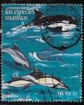 Sellos del Mundo : America : México : Orca y delfines