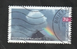 Stamps Europe - Germany -  3221 - Nube y Arco Iris