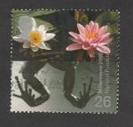 Stamps United Kingdom -  Vida en los estanques