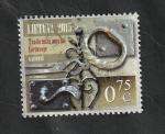 Stamps : Europe : Lithuania :  1048 - Artesania tradicional, manijas de la puerta