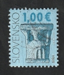 Stamps : Europe : Slovakia :  Patrimonio cultural de Eslovaquia