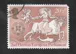 Stamps : Europe : United_Kingdom :  1129 - Europa Cept
