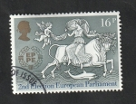 Stamps : Europe : United_Kingdom :  1127 - Europa Cept