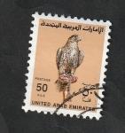 Sellos del Mundo : Asia : Emiratos_Árabes_Unidos : 277 - Halcón