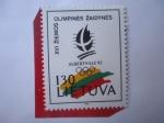 Sellos del Mundo : Europa : Lituania : Albertville 92-Juegos Olímpicos de Invierno-