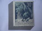 Sellos del Mundo : Europa : Checoslovaquia : Prielom Hornádu - Trucha, Valle de Hornad.