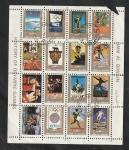 Stamps : Asia : United_Arab_Emirates :  Umm Al Qiwain - Historia de los Juegos Olímpicos