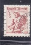 Stamps : Europe : Austria :  CAMPESINA