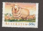 Stamps Armenia -  Oveja raza Merina