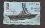 Stamps Argentina -  Portaviones 25 Mayo