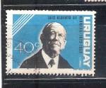 Stamps : America : Uruguay :  RESERVADO JOAQUIN luis alberto de herrera