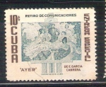 Stamps : America : Uruguay :  RESERVADO JOAQUIN retiro de comunicaciones