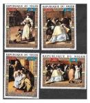 Sellos de Africa - Níger -  C176-C179 Campaña de la UNESCO para Salvar Venecia